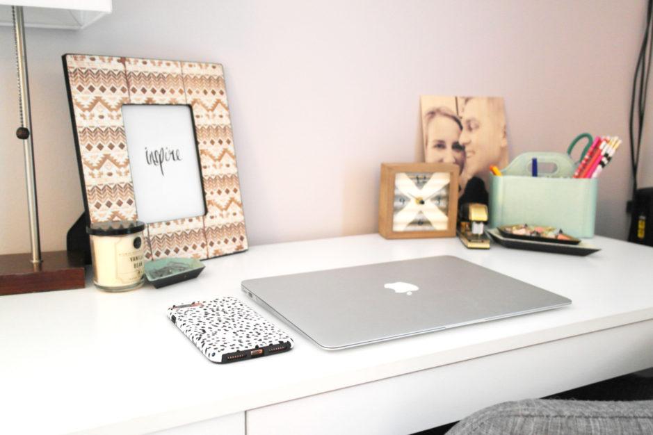 plum and post, photo barn, desk details, target, home decor, decor