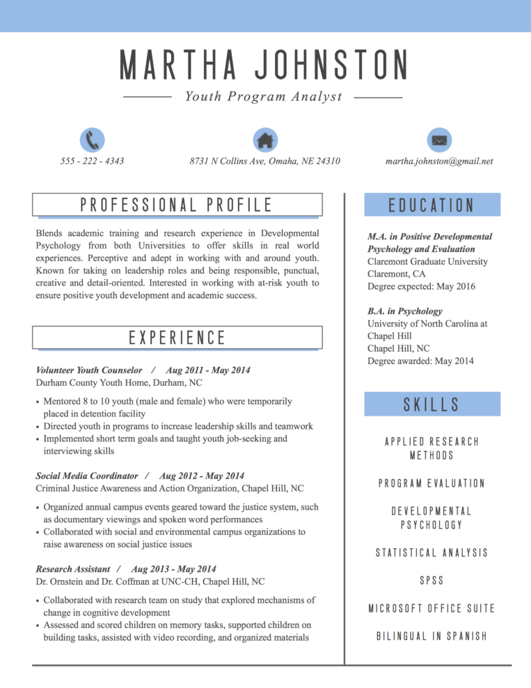 resume by nico simple matters
